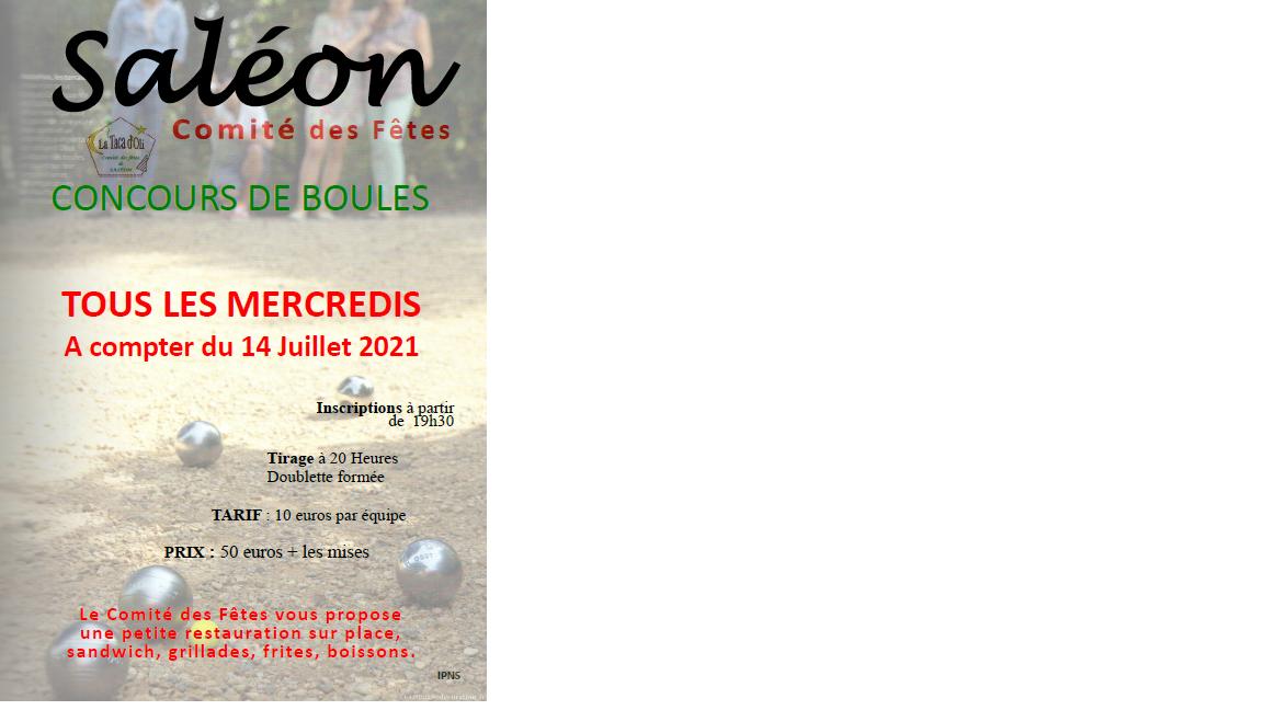 Boules 2021
